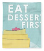 Dessert Fleece Blanket