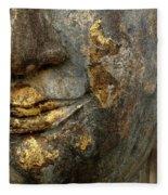 Detail Buddhas Lips Fleece Blanket