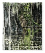Details Of A Florida River Fleece Blanket