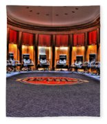 Detroit Pistons Locker Room Auburn Hills Mi Fleece Blanket
