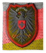 Deutsch Weimarer Shield Fleece Blanket