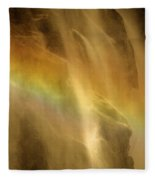Devil In The Rainbow Fleece Blanket
