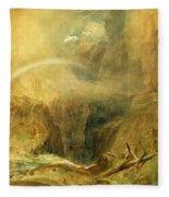 Devil's Bridge Fleece Blanket