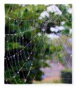Dewdrops Dimension Fleece Blanket