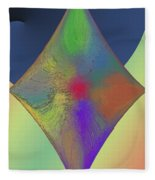 Diamond Abstract Fleece Blanket