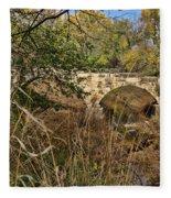 Diamond Creek Double Arch Bridge Fleece Blanket