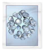 Diamonds... Fleece Blanket