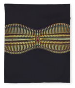 Diatom - Diploneis Crabro Fleece Blanket