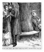 Dickens: Martin Chuzzlewit Fleece Blanket