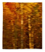 Did You Say Trees Fleece Blanket