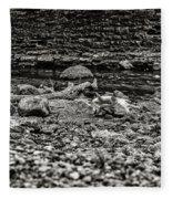 Died Of Thirst Fleece Blanket