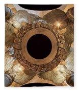 Digital Liquid -  Ww II Memorial Victory Wreath Fleece Blanket