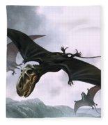 Dimorphodon Fleece Blanket
