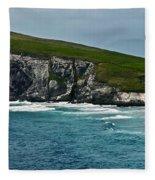 Dingle Coastline Fleece Blanket