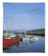 Dingle Peninsula, Dingle Harbour Fleece Blanket