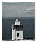 Dingle Peninsula Lighthouse Ireland Fleece Blanket