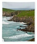Dingle Peninsula Sea Shore 1 Fleece Blanket
