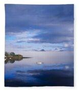 Dinish Island, Kenmare Bay, County Fleece Blanket