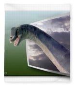 Dinosaur - Oof Fleece Blanket