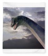 Dinosaur Sky Fleece Blanket