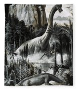 Dinosaurs Fleece Blanket