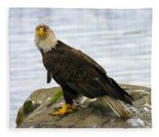 Dirty Bird Fleece Blanket