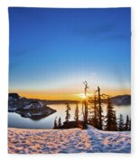 Discovery Point Sunrise Fleece Blanket