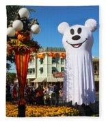 Disneyland Halloween 1 Fleece Blanket