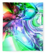 Disorderly Color Abstract Fleece Blanket