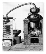 Distillation By Means Of A Metallic Fleece Blanket by Science Source