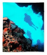 Diver Down Fleece Blanket
