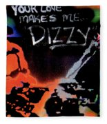 Dizzy Love Fleece Blanket