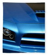 Dodge Charger Srt8 Super Bee Fleece Blanket