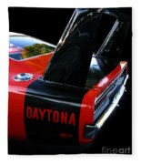 Dodge Daytona Fin 02 Fleece Blanket