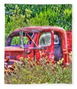 Dodge Pickup Truck Fleece Blanket