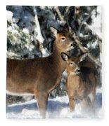 Doe A Deer Fleece Blanket