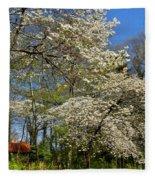 Dogwood Grove Fleece Blanket