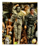 Doll - Gi Joe In Camo Fleece Blanket