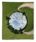 Dome Of The Sky Fleece Blanket