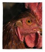 Domestic Chicken Fleece Blanket