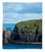 Donegal Seascape Fleece Blanket