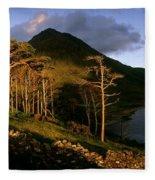 Doo Lough Pass, County Mayo, Ireland Fleece Blanket