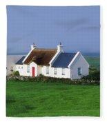 Doolin, Co Clare, Ireland Renovated Fleece Blanket