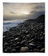 Doolin, County Clare, Ireland Pebble Fleece Blanket