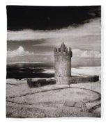 Doonagore Tower Fleece Blanket