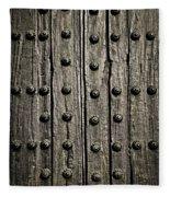 Door Detail Fleece Blanket