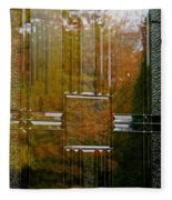 Doorway To Autumn Fleece Blanket