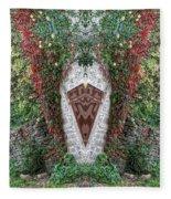 Doorway To Faeryland Fleece Blanket