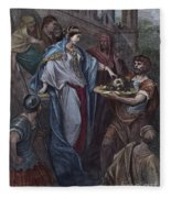 Dor�: Daughter Of Herod Fleece Blanket