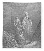 Dor�: Elijah & Widows Son Fleece Blanket